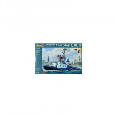 Сборная модель Revell Портовый буксир Harbour Tug Boat Fairplay 1:144 Фото