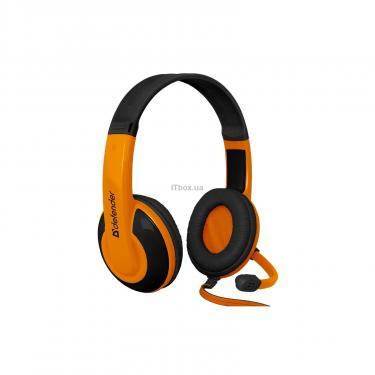 Навушники Defender Warhead G-120 Black-Orange (64099) - фото 2
