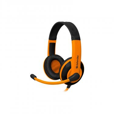 Навушники Defender Warhead G-120 Black-Orange (64099) - фото 1