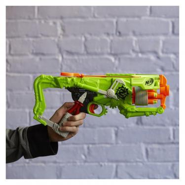 Игрушечное оружие Hasbro Nerf Бластер Зомби Страйк Аутбрейкер Фото 2