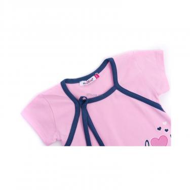 "Піжама Matilda і халат з ведмедиками ""Love"" (7445-104G-pink) - фото 6"