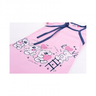 "Піжама Matilda і халат з ведмедиками ""Love"" (7445-104G-pink) - фото 8"