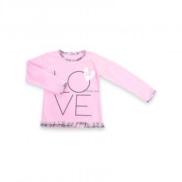 """Пижама Matilda с сердечками """"Love"""" (7585-92G-pink) - фото 2"""