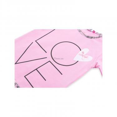 """Пижама Matilda с сердечками """"Love"""" (7585-92G-pink) - фото 9"""