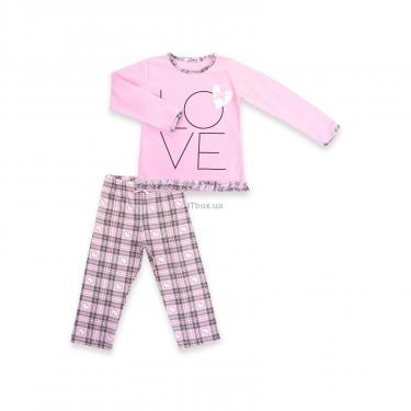 """Пижама Matilda с сердечками """"Love"""" (7585-92G-pink) - фото 1"""