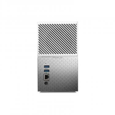 "NAS 3.5"" 20TB My Cloud Home Duo WD (WDBMUT0200JWT-EESN) - фото 4"