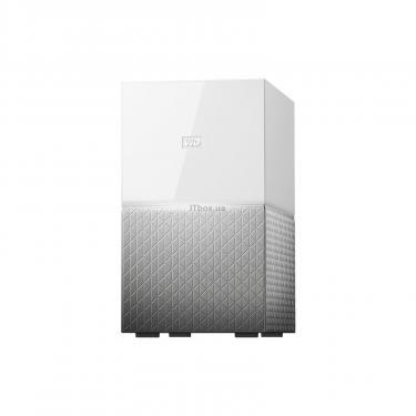 "NAS 3.5"" 20TB My Cloud Home Duo WD (WDBMUT0200JWT-EESN) - фото 1"