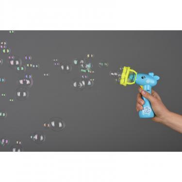 Игровой набор Same Toy мыльные пузыри Bubble Gun Жираф синий Фото 1