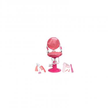Аксессуар к кукле Our Generation Кресло для салона розовое Фото