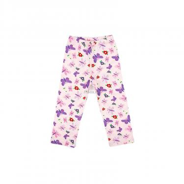 Пижама Matilda с бабочками (4858-3-116G-pink) - фото 3