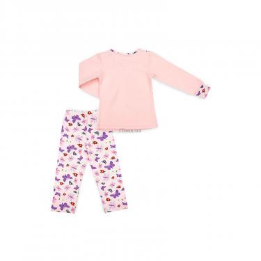 Пижама Matilda с бабочками (4858-3-116G-pink) - фото 4