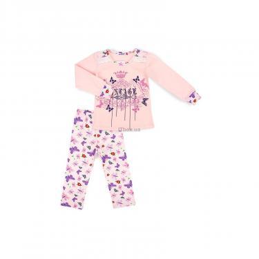 Пижама Matilda с бабочками (4858-3-116G-pink) - фото 1