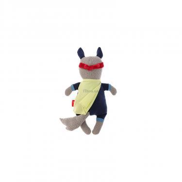 Мягкая игрушка Sigikid Papa&Me Волк супергерой 35 см Фото 2