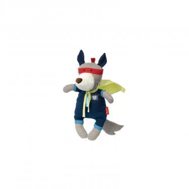 Мягкая игрушка Sigikid Papa&Me Волк супергерой 35 см Фото