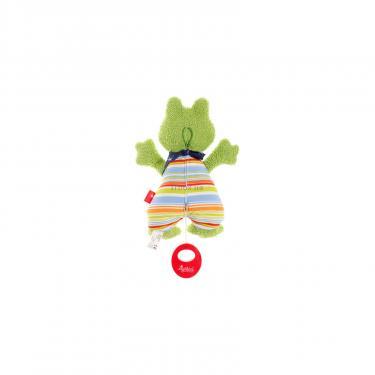 Мягкая игрушка Sigikid музыкальная Лягушка 23 см Фото 1