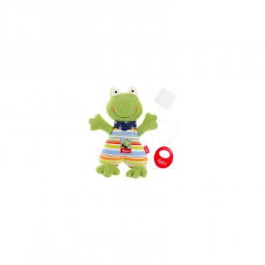 Мягкая игрушка Sigikid музыкальная Лягушка 23 см Фото 2