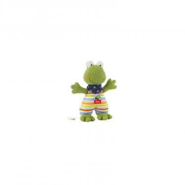 Мягкая игрушка Sigikid музыкальная Лягушка 23 см Фото