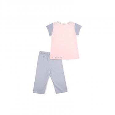 Пижама Matilda со звездочками (7991-140G-pink) - фото 4