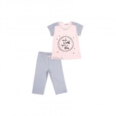 Пижама Matilda со звездочками (7991-140G-pink) - фото 1