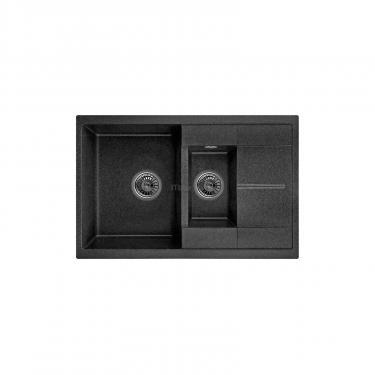 Мойка кухонная Minola MPG 5360-77 Черный Фото