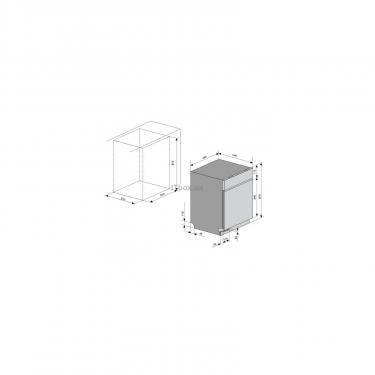 Посудомийна машина VENTOLUX DW 4509 4M - фото 9