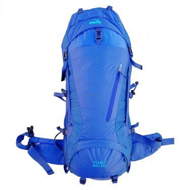 Рюкзак Tramp Floki 50+10 синий (TRP-046-blue) - фото 1