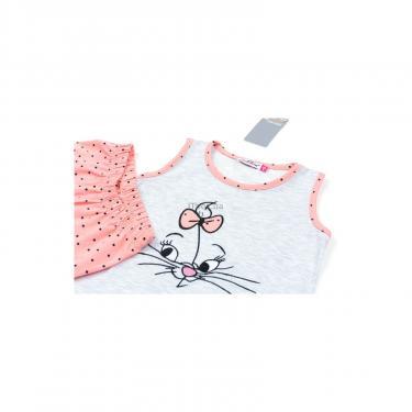 Пижама Matilda с котиком (9421-134G-gray) - фото 3