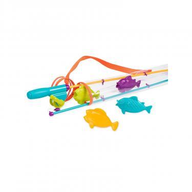 Игровой набор Battat Магнитная рыбалка 2 удочки 4 рыбки Фото 1