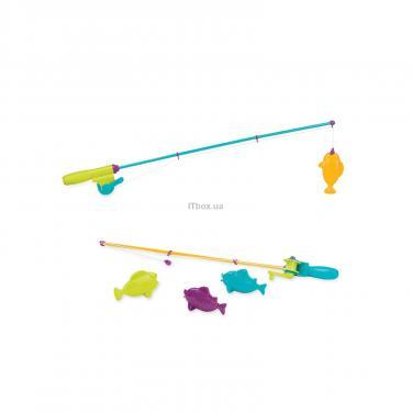 Игровой набор Battat Магнитная рыбалка 2 удочки 4 рыбки Фото