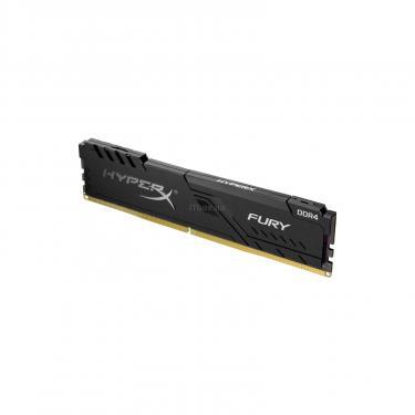 Модуль памяти для компьютера DDR4 8GB 2666 MHz HyperX FURY Black Kingston (HX426C16FB3/8) - фото 2