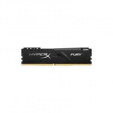 Модуль памяти для компьютера DDR4 8GB 2666 MHz HyperX FURY Black Kingston (HX426C16FB3/8) - фото 1