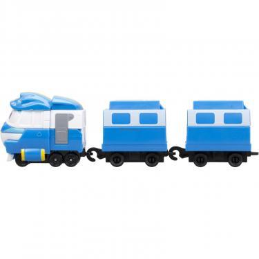 Игровой набор Silverlit Robot Trains Паровозик с двумя вагонами Кей Фото 2