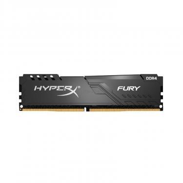 Модуль памяти для компьютера DDR4 8GB 2400 MHz HyperX FURY Black Kingston (HX424C15FB3/8) - фото 1
