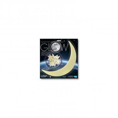 Игровой набор 4М Светящиеся наклейки Луна и звезды, 13 шт Фото