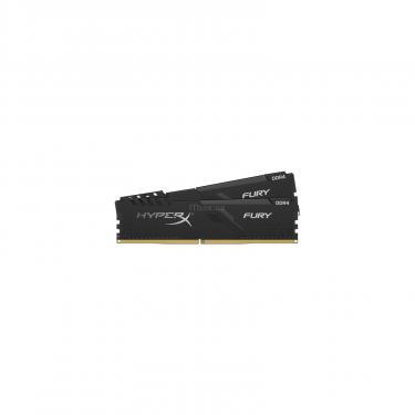 Модуль памяти для компьютера DDR4 16GB (2x8GB) 2666 MHz HyperX Fury Black Kingston (HX426C16FB3K2/16) - фото 2