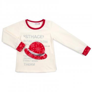 Пижама Matilda флисовая со шляпкой (9110-3-128G-red) - фото 2