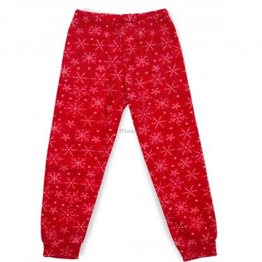 Пижама Matilda флисовая со шляпкой (9110-3-128G-red) - фото 3
