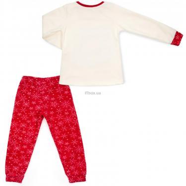 Пижама Matilda флисовая со шляпкой (9110-3-128G-red) - фото 4