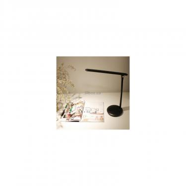 Настільна лампа ColorWay 4W with built-in battery 1800 mAh USB in/out 5V*1A, black (CW-DL02B-B) - фото 6