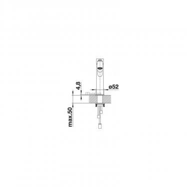 Кухонний змішувач BLANCO AMBIS-S НЕРЖ (523119) - фото 2