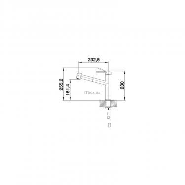 Кухонний змішувач BLANCO AMBIS-S НЕРЖ (523119) - фото 3