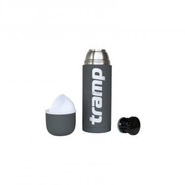 Термос Tramp Soft Touch 1 л Grey (TRC-109-grey) - фото 2