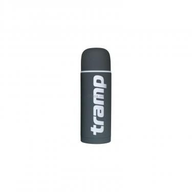 Термос Tramp Soft Touch 1 л Grey (TRC-109-grey) - фото 1
