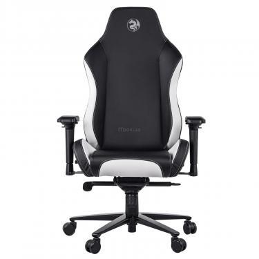 Кресло игровое 2E GC24 Black/White Фото 2