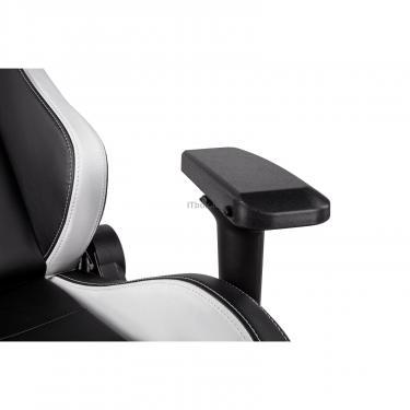 Кресло игровое 2E GC24 Black/White Фото 4