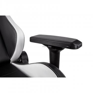 Кресло игровое 2E GC24 Black/White Фото 5
