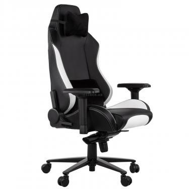 Кресло игровое 2E GC24 Black/White Фото