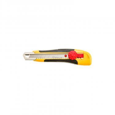 Нож канцелярский Topex 18мм с фиксатором Фото