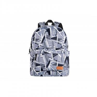 """Рюкзак для ноутбука 2E 13"""" TeensPack Absrtraction, grey Фото 1"""