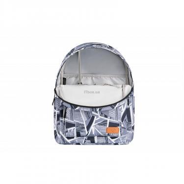 """Рюкзак для ноутбука 2E 13"""" TeensPack Absrtraction, grey Фото 5"""